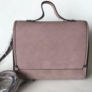 I.N.C blush casual handbag with sling strap